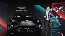 Aston Martin boss Andy Palmer headed for the exit