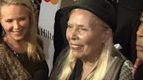 Joni Mitchell in hospital