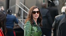 Anne Hathaway, Rihanna, and the Rest of the 'Ocean's Eight' Cast Have Cool Winter Coat Style