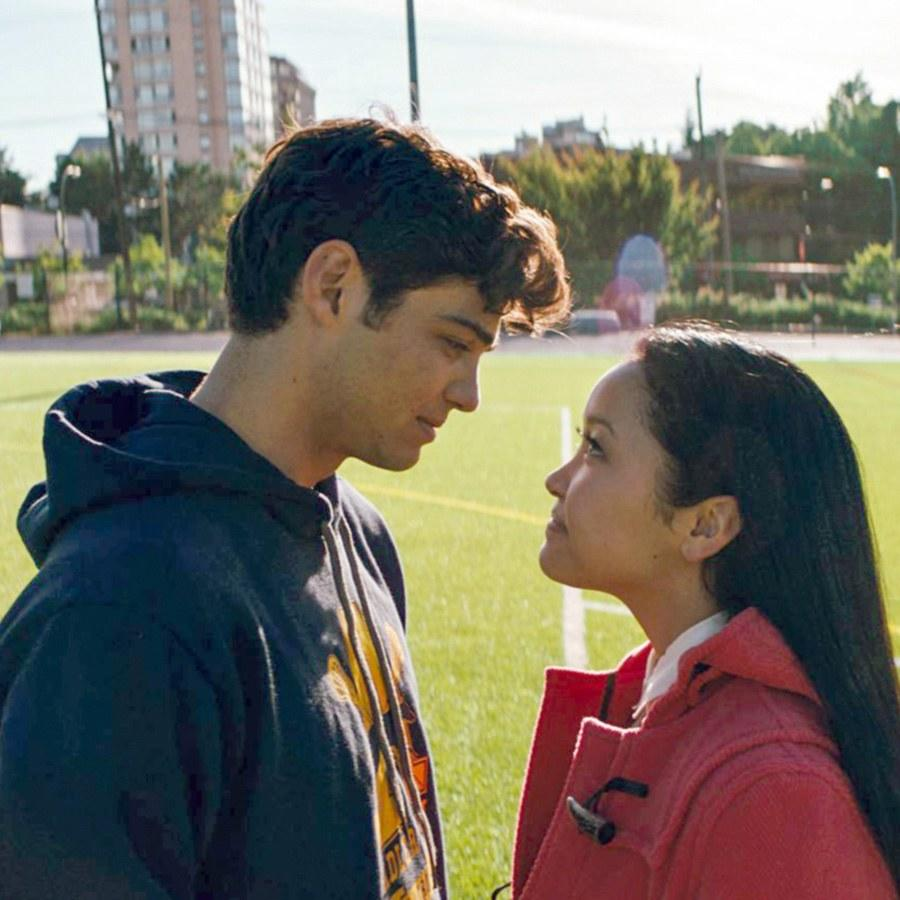 To All The Boys I Ve Loved Before Cast Including Noah Centineo And Lana Condor Recreate Iconic Rom Coms