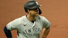 Yankees without Giancarlo Stanton after hamstring strain