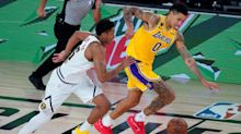 Kyle Kuzma's 3-pointer lifts Lakers to past Nuggets' bench