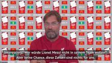 Klopp: Premier League braucht Messi-Boost nicht
