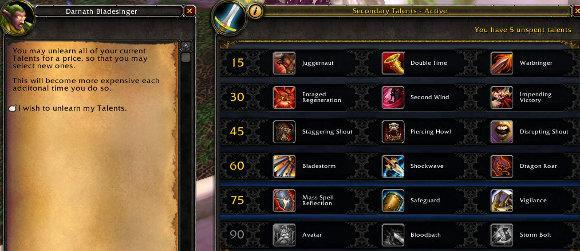 Patch 5.0.4, the new talent system, and you