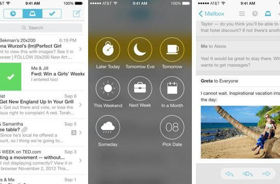 Mailbox for iOS now handles your iCloud or Yahoo email account