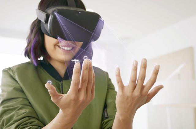 Oculus Quest gets gadget-free hand tracking in 2020