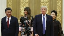 Melania Trump wears Gucci cheongsam for China state dinner