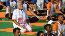 India se elonga por el Día Internacional del Yoga
