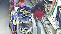 Thief drops from ceiling in Dollar Store burglary