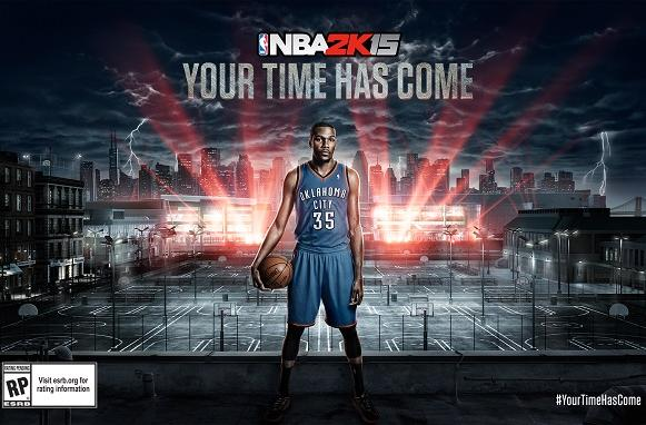 Blink and you'll miss this NBA 2K15 trailer