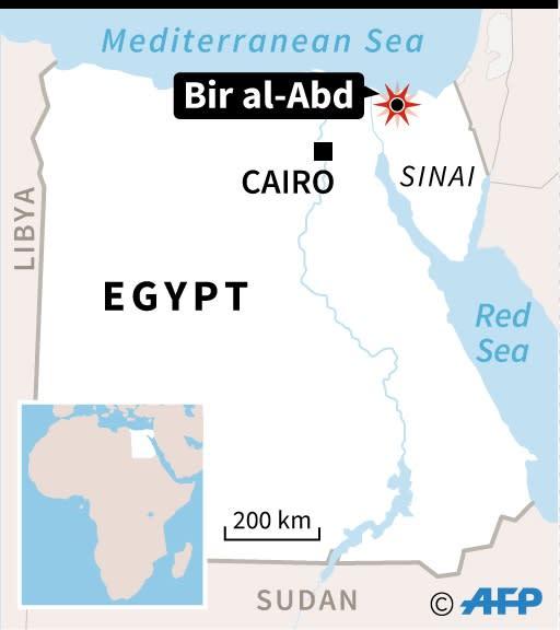 Egypt (AFP Photo/Vincent LEFAI, Kun TIAN)
