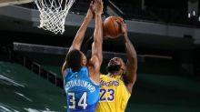 Watch Giannis Antetokounmpo block LeBron James