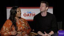 'The Oath' stars Ike Barinholtz and Tiffany Haddish have advice for talking politics with family