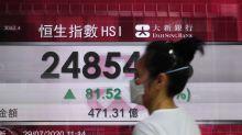 Asian shares mixed amid dismal earnings, Wall Street slump