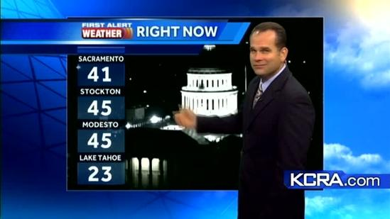 Northern California forecast 11.28.12