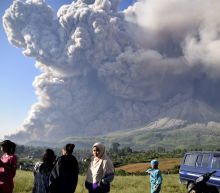 Indonesia's Sinabung Volcano spews high column of ash
