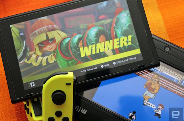 'Arms' is the successor to 'Punch Out' the Nintendo Switch needs