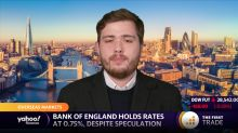 Bank of England holds rates at 0.75%, despite speculation