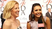 Nina Dobrev Rocks a Gorgeous Lela Rose 2-Piece at CFDA Awards 2015