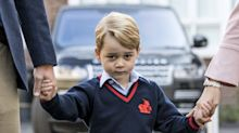 Prince George played a sheep - not a king - in his school nativity