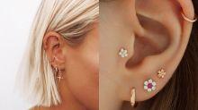 【這個耳洞位置比紋身更痛?】率先知3個2020穿耳潮流、穿耳發炎護理方法