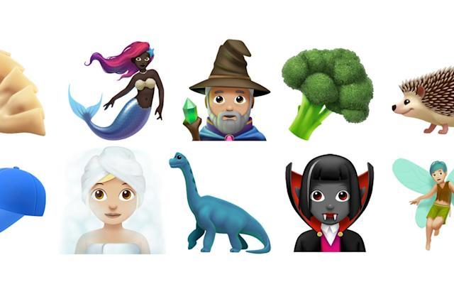 Apple adds wizard, dinosaur and mermaid emoji in iOS 11.1
