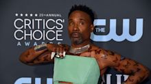 Billy Porter Rocks Butterfly Body Art At Critics' Choice Awards To Honor Transgender People