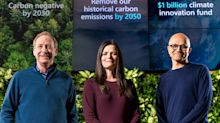 Microsoft plans to be 'carbon negative' by 2030