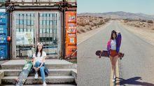 每日IG - 韓國正妹 踏著滑板熱舞超好看
