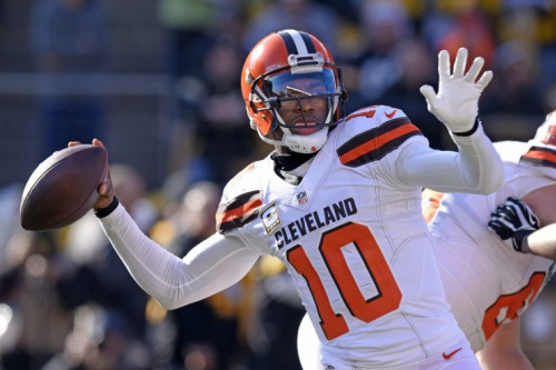Robert Griffin III has a meeting with the Chargers on Tuesday. (AP)