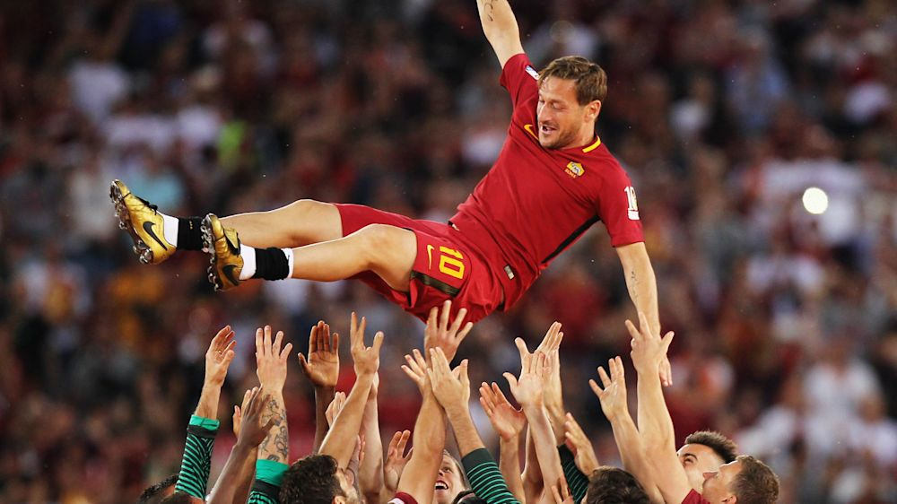 A new phase and a new adventure - Totti ends playing career to become Roma director