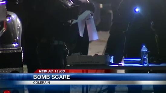 Man accused of making explosives in his home
