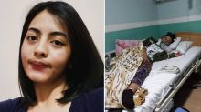 Young woman's battle after coronavirus halts life-saving surgery