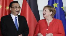 China, Germany strike trade deal without the US