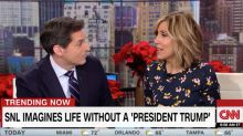 CNN Host Counters Trump, Says She's At Her 'Most Patriotic' Watching 'SNL'