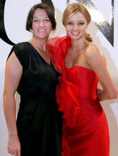 Therese and Miranda Kerr.
