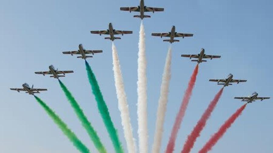 Le Frecce Tricolori voleranno sul Gran Premio di Imola 2021