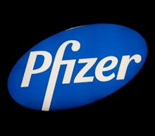 Pfizer declines about 8% after setback to breast cancer treatment