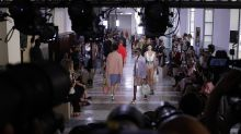 Angela Missoni shows feather-light sheer knits in Milan
