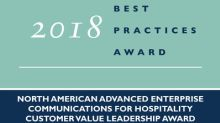 Mitel Recognized by Frost & Sullivan for Communications and Collaboration Solution Tailored to the Hospitality Industry