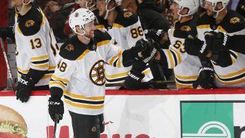 Bruins' Grzelcyk dances by Subban for filthy goal