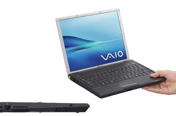 Sony's 12.1-inch VAIO G bunged with SSD
