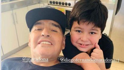 Antes de morrer, Maradona contatou padrasto de filho