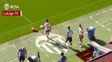El Valencia vuelve a entrenar en Mestalla