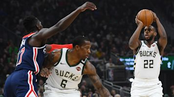 Bucks pour in 88 points as part of record first half