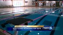 Pool closed after swimmers feel tingling sensation