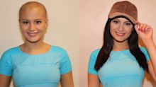 23-year-old woman with cancer finds stylish way to help others with hair loss