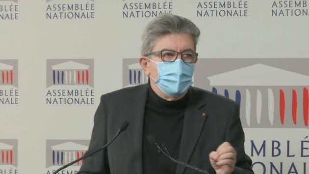 """Loi """"sécurité globale"""": pour Mélenchon, Darmanin réalise que la majorité a """"enfanté un monstre"""""""