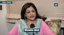 Important to protest if insulted as an Indian, says Shazia Ilmi