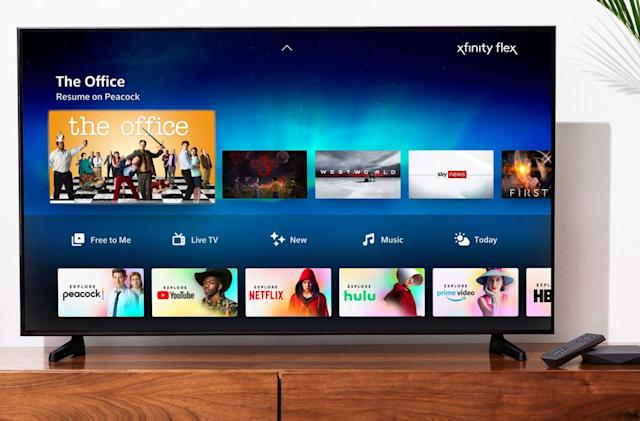 Xfinity internet-only customers now get the Flex streaming platform for free